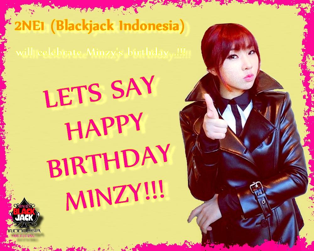 Yup!! Udah pada hafal dong ya, si magnae Minzy akan berulang tahun ke ...